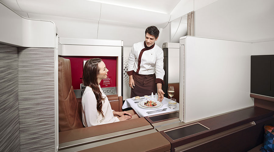 Poltrona First Class.Etihad Airways Has Won The 2016 Crystal Cabin Award For Its