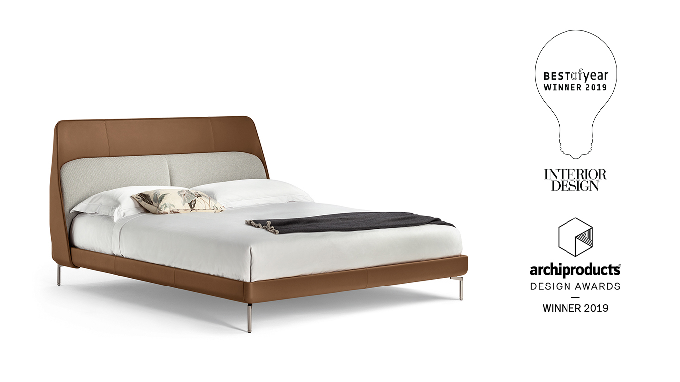 Poltrona Frau Wins The Interior Design S Best Of Year Award And The Archiproducts Design Awards 2019 With Coupe Bed Designed By Gamfratesi Poltrona Frau