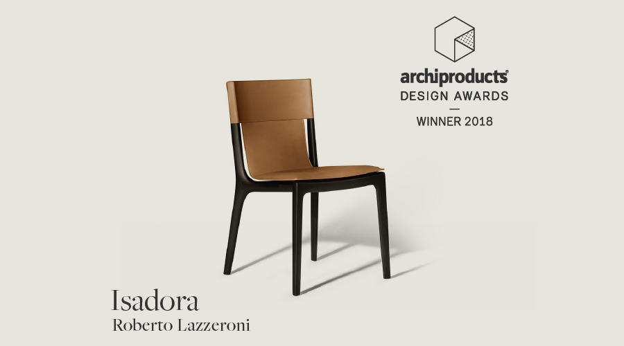 Roberto Lazzeroni Design.Poltrona Frau Wins The Archiproducts Design Award 2018 With
