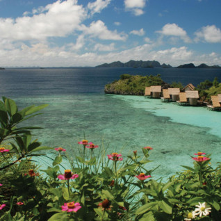 Picture of Misool Eco Resort lagoon