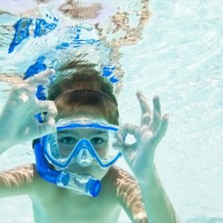 Child Snorkelling
