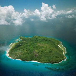 Aerial View of Fregate Island