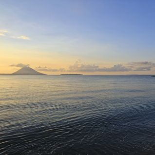 Sunset at Bunaken Island