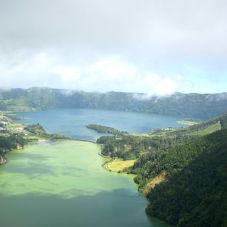 Azores holiday viewpoint
