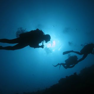 Diving in Alphonse, Seychelles