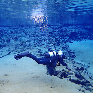 scuba diving, Iceland