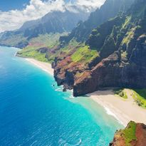 Kauai Island Coastline, Hawaii