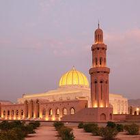 Grand Mosque Muscat, Oman