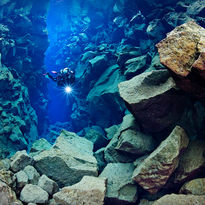 diving silfra fissure Iceland