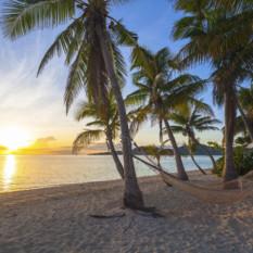 Fiji Hammock at Sunset