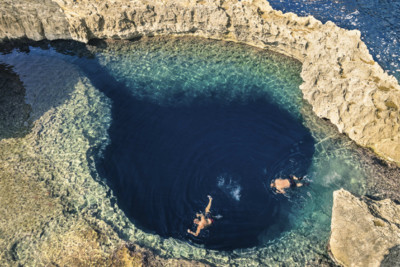 Blue Hole, Gozo