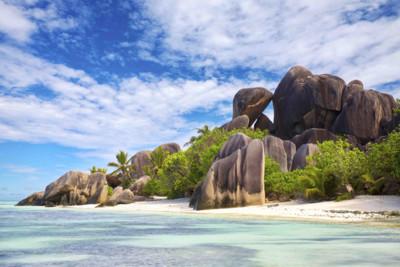 Imposing rocks, Seychelles