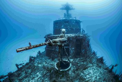 Wreck diving in Gozo, Malta