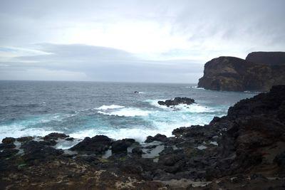 Coastal landscape, Azores
