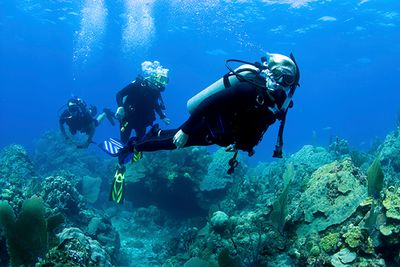 Family diving holiday in Grenada