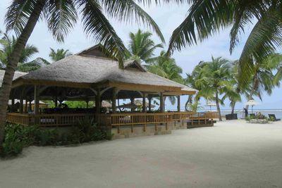 The resort on the beach