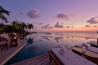 Cocktail pool bar Maldives