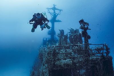Gozo wreck diving