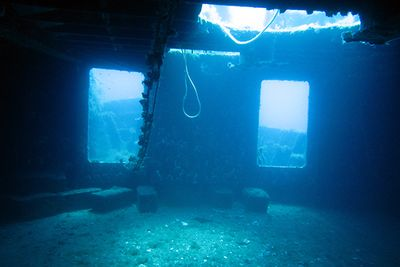 Wreck MV Karwela diving
