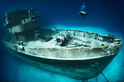 Kittiwake wreck Cayman Islands