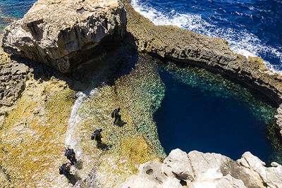 Gozo blue hole