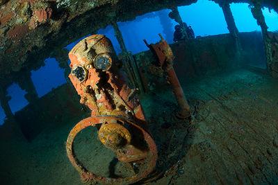 Wreck diving in Chuuk Lagoon, Micronesia