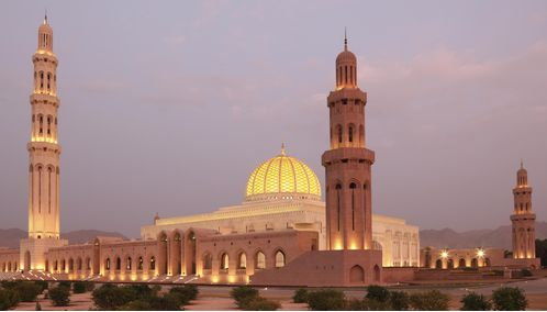 Mosque in Muscat