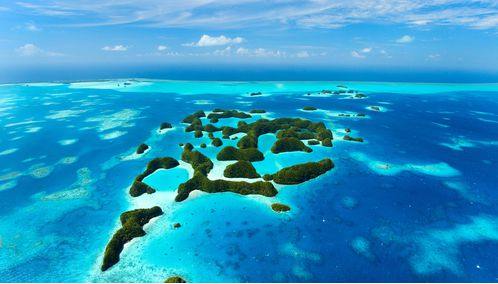 Micronesia Rock Islands