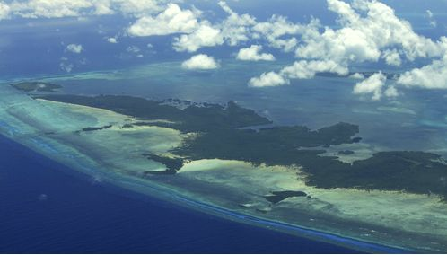 Pemba Island Aerial