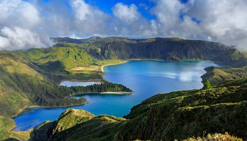 Azores aerial view