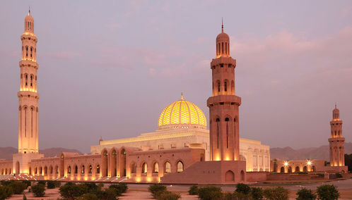 Grand Mosque Muscat, Oman