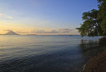 Sunset at Bunaken Island