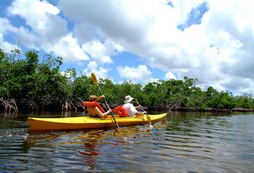 Picture of kayaking at Old Bahama Bay Resort