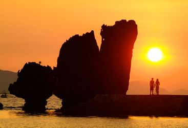 Picture of Lagen Rock at El Nido Lagen Island Resort