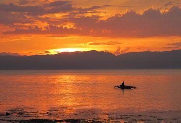 Picture of Kasai village sunset