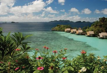Picture of Misool Eco Resort lagoon