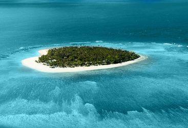 Fijian Island, Aerial