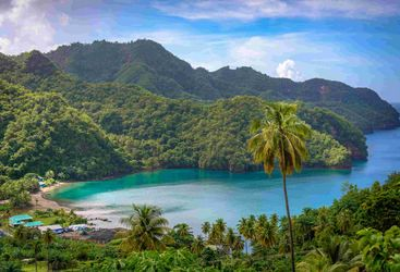 saint vincent and the grenadines island