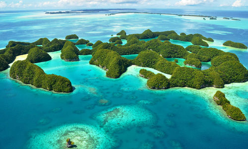 Rock islands off Palau