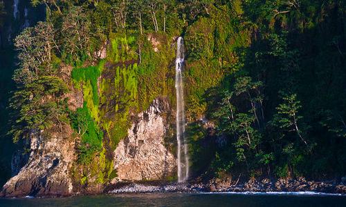 waterfall Cocos Island