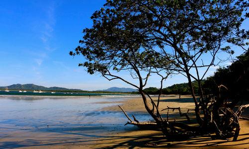 Beach view on Peninsula Papagayo