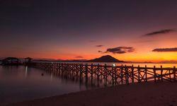 Komodo Islands, Sunset
