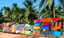 Sarongs in Mozambique