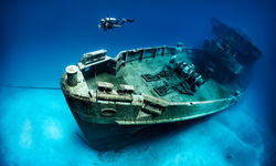 Gozo wreck diving