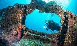 Shipwreck diving off Palau