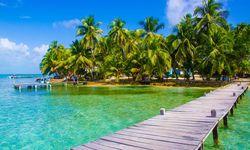 Belize pier
