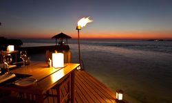 Candle Lit Beach Dinner, Maldives