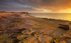 Sunset at Cape Range, Australia