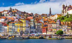 Colourful Porto houses