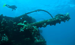 Ship Wreck, Chuuk Lagoon